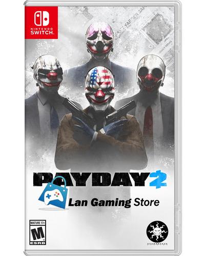 Payday 2 Nintendo Switch Nuevo Y Sellado - Poster Gratis