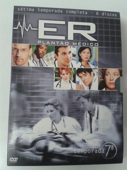 Box Dvd E.r. Plantão Médico 7a. Temporada Usado Original