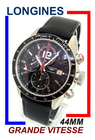 Longines Grande Vitesse Chrono Sport Line Gmt Xl 44 Mm !
