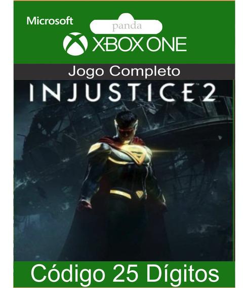 Injustice 2 Xbox One Codigo 25 Digitos Oficial