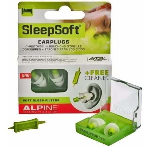Protetor Alpine Auricular Sleepsoft P/ Dormir Ronco Barulho