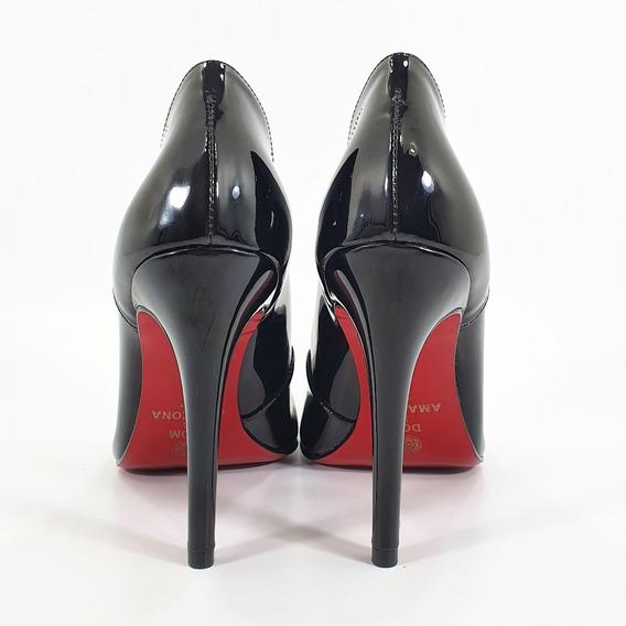 Sapato Scarpin Feminino Várias Cores Numeração Especial C 31