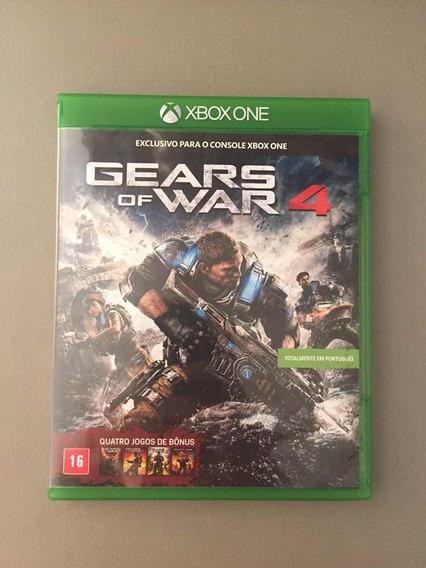 Jogo Gears Of War 4 Xbox One Original Seminovo