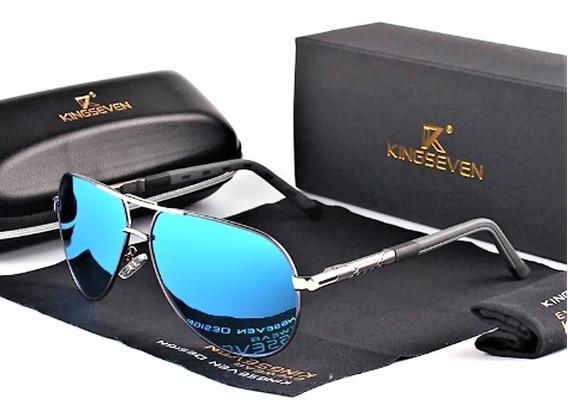Óculos De Sol Aviador Masculino Kingseven K725