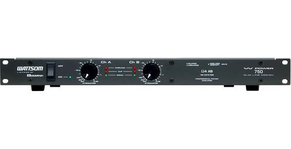 Amplificador Potência 188w Ciclotron W Power 750 Ab