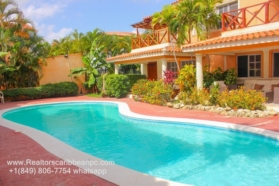 Oferta! Costa Bavaro Villa Duplex For Rent