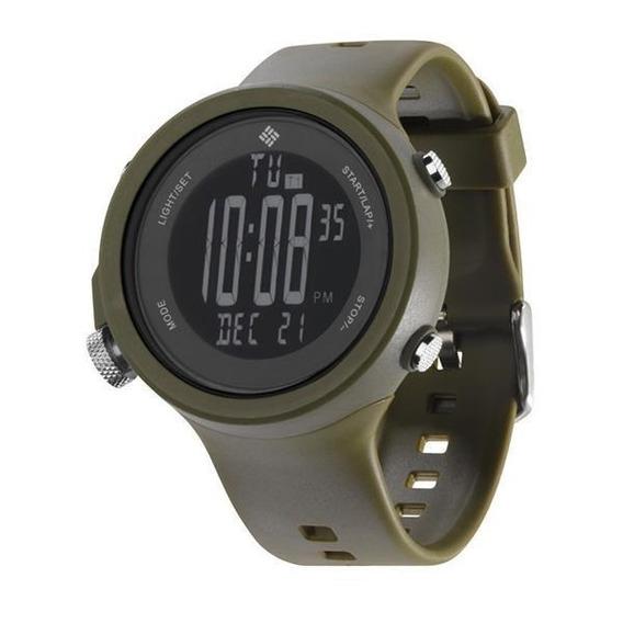 Relógio De Pulso Columbia Ravenous - Verde Musgo/preto