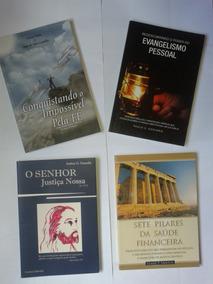 Livro Adventista - Kit 4 Livros - Evangelismo - Finanças