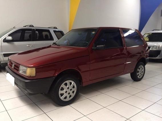 Fiat Uno Mille Eletronic 1.0 Vermelho 8v Gasolina 4p 1995