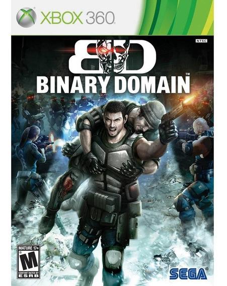 Jogo Binary Domain (novo) Xbox 360