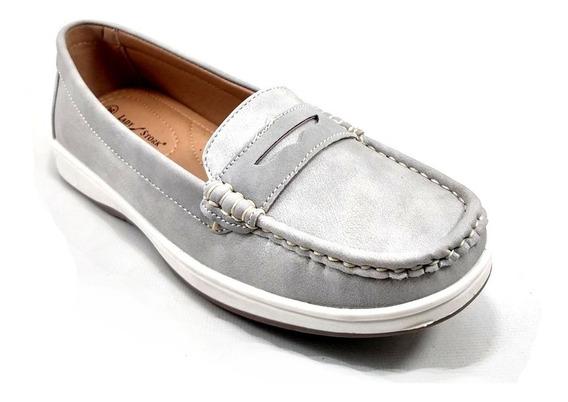 Zapatos Mujer Lady Stork Mocasin Nautico Elena