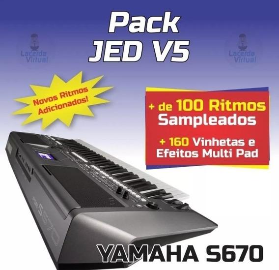 Pack Jed V5.9 +122 Ritmos Atuais+180 Vinhetas MultiPad