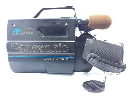 Filmadora Antiga Panasonic Omnimovie Vhs Hq Afx6