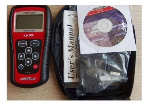 Escaner Automotriz Konnwei Kw808 Obd2 Eobd Scanner Obdii
