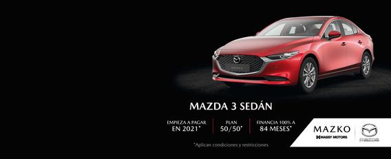 Mazda 3 Touring At Cuero 2.0l Plata   2021