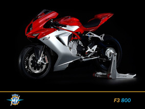 Mv Agusta F3 800 0km 2018 Rojo Y Plata Nuevo Motos