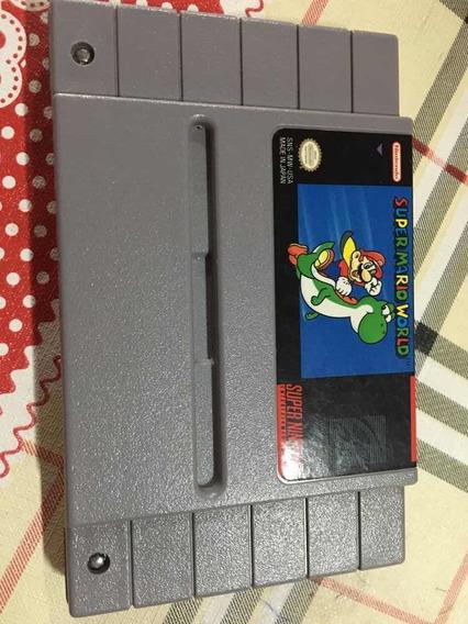 Fita Original Super Mario World Snes