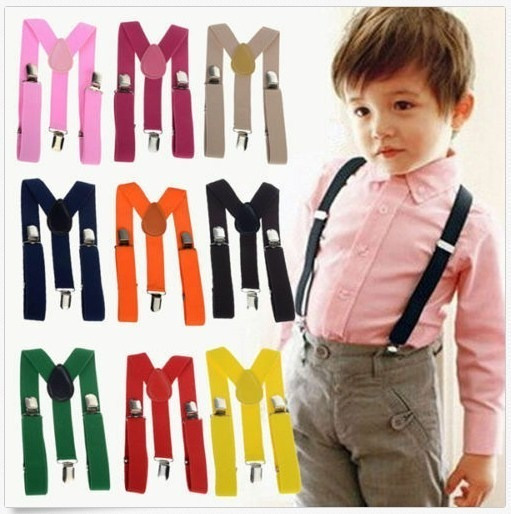 Tirantes Para Bebe Niño Suspensor Niña Pinzas Pantalones