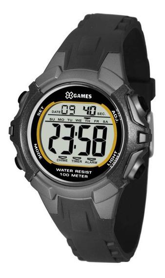 Relógio X-games Digital Masculino Xkppd055 Casual Preto