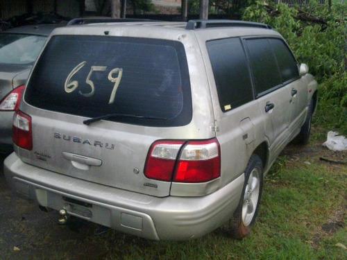 Sucata Subaru Forester Turbo 00/01 Funciona Bartolomeu Peças