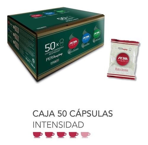 Imagen 1 de 1 de Caja 50 Cápsulas Café Nespresso Pera Dolce Aroma