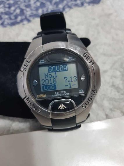 Relógio Citizen Cyber Aqualand