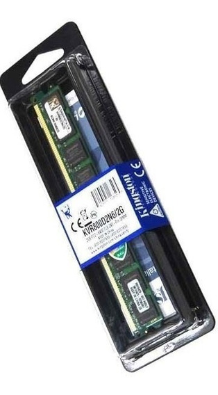 Memoria 2gb Ddr2 800 Kingston Compatible 667 Y 533 Nuevas