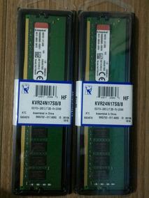 Ddr4 16gb (8gb+8gb) 2400mhz 1,2v Cl17 Kingston P/ Desktop Pc