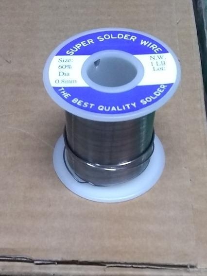 Estaño Super Solder Wire 1 Libra