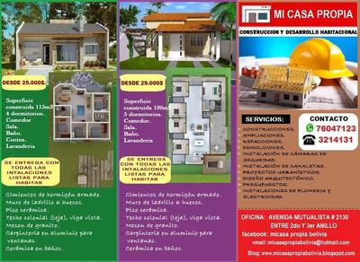 Construccion De Casas A Precios Economicos