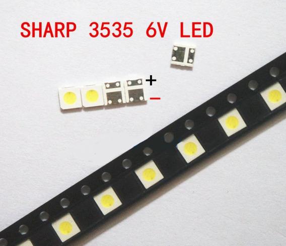 Led 3535/3537 Sharp 1w 6v Reparación De Tv 10 Unidades