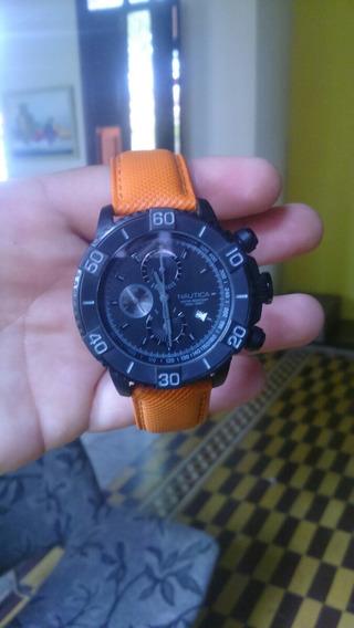 Relógio Náutica Esportivo , Seminovo Com Garantia!