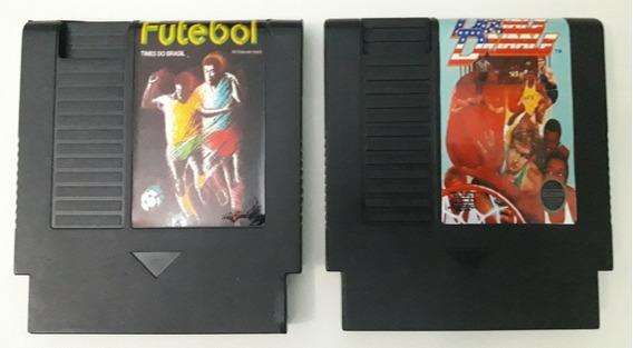 Futebol Times Do Brasil/ Double Dribble Para Nes
