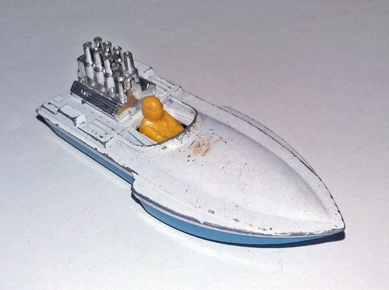 Lancha Matchbox Superfast Nº 5 Seafire 1975 Lesney