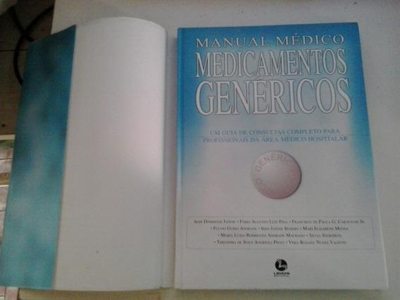 Manual Médico Medicamentos Genéricos - Frete Grátis
