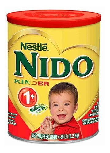 Imagen 1 de 3 de Fórmula Del Niño Nestle Nido Kinder 1+ (4,85 Lbs.).