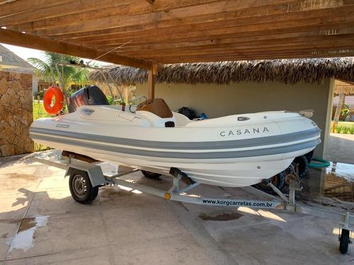 Imagem 1 de 14 de Lancha -  Barco Inflável Flex Boat 450. 2018
