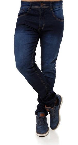 Calça Jeans Com Lycra Masculina Plus Size Tamanho Grande
