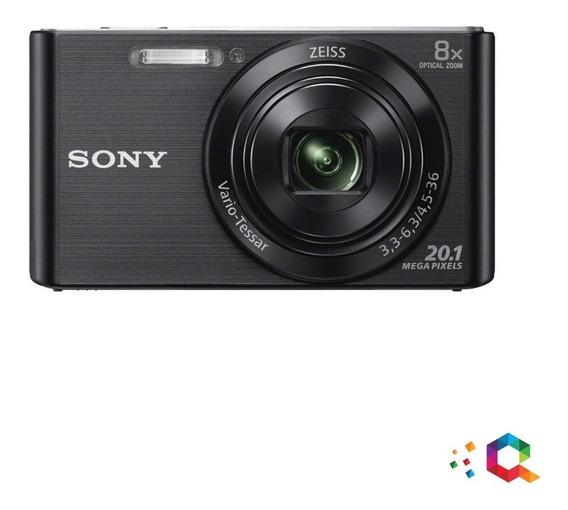 Sony W830 Cámara Digital Zoom Óptico De 8x 20.1mp Hd720p