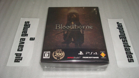 Bloodborne The Old Hunters Limited Edition Ps4