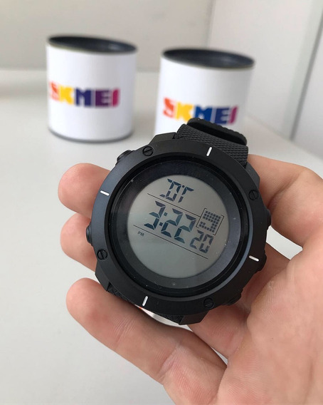 Relógio Masculino Skmei Digital Preto - Cód Ref 1213