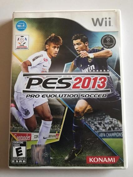 Pes 2013 Wii Original Completo