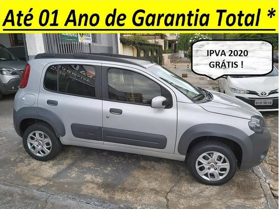 Fiat Uno 1.0 Way 8v Flex Completo Ipva Pago Até 09/2021