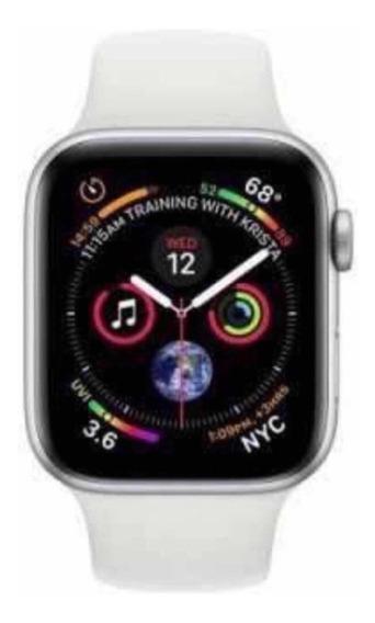 Relógio Apple Watch Série 4 44mm Silver Novo