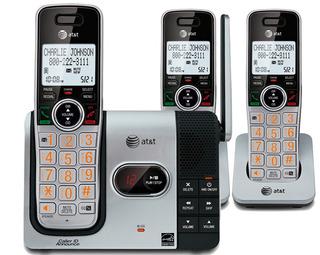 Kit 3 Telefonos Inalambricos At&t Cl82314 Envio Gratis