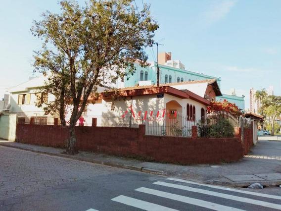 Terreno À Venda, 250 M² Por R$ 550.000 - Santa Teresinha - Santo André/sp - Te0187