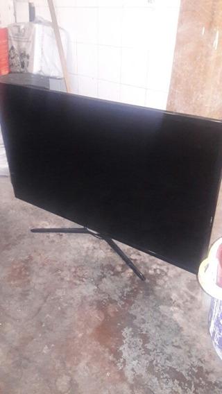 Smart Tv Samsung _ Un40f5500agcom Tela Trincada