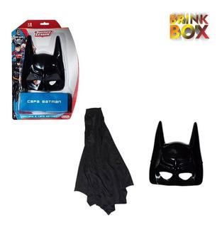 Máscara E Capa Do Batman Liga Da Justiça