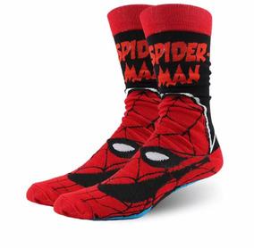 Meia Do Homem-aranha Marvel Camisetas Marvel Algodão Spider