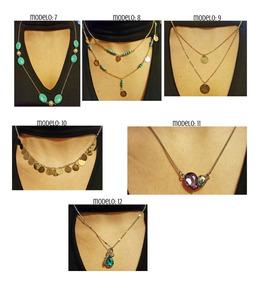 3995829ad766 20 Collares Dije Moda Vintage Joyeria Bisuteria Mayoreo Dama ...